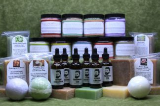 Bath Bombs, Soaps, Beard Oils, Bath Salts